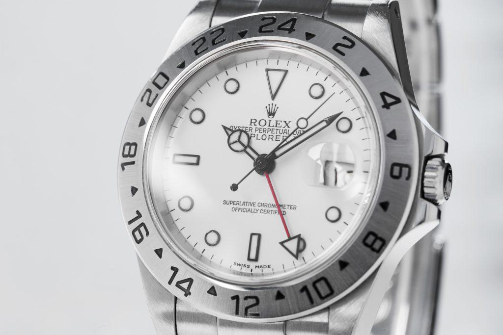 Rolex Explorer II weisses Zifferblatt