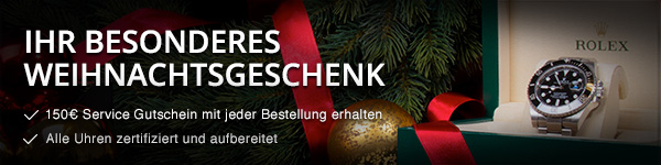 Weihnachtsservice-Gutschein Watchmaster