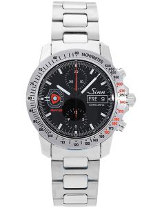 Sinn Mazda RX-8 watch with reference 303 on a white backgorund