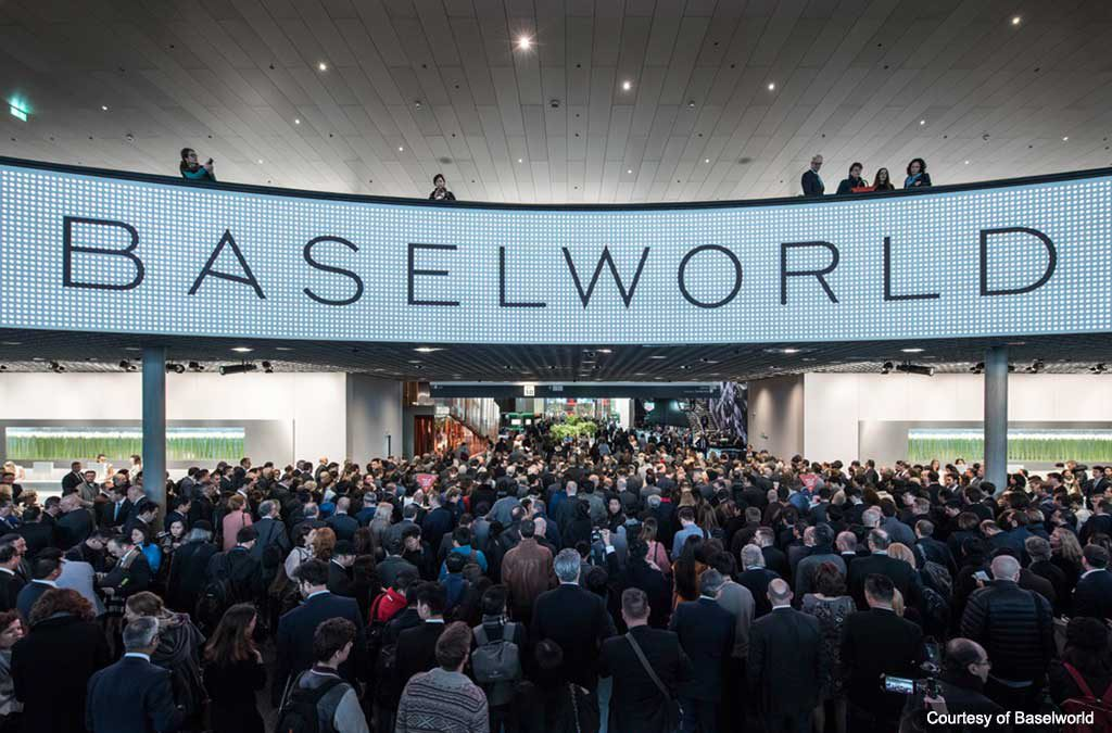 Baselworld 2018 Main entrance