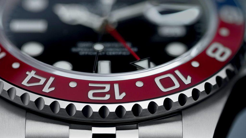 GMT Master II 126710BLRO - Closeup Bezel - Manuel Lütgens