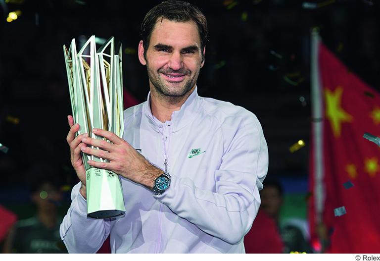 Roger Federer Award Rolex
