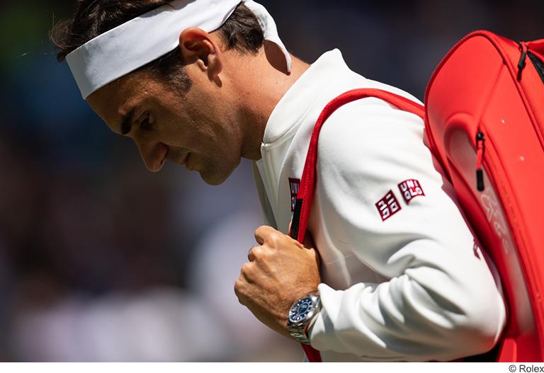 Rolex et Roger Federer