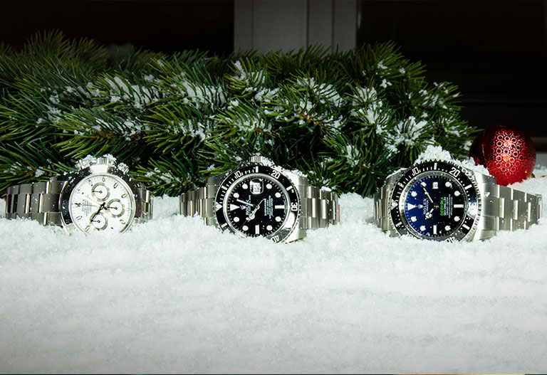 Weihnachten mit Watchmaster Rolex Daytona Submariner und Deepsea
