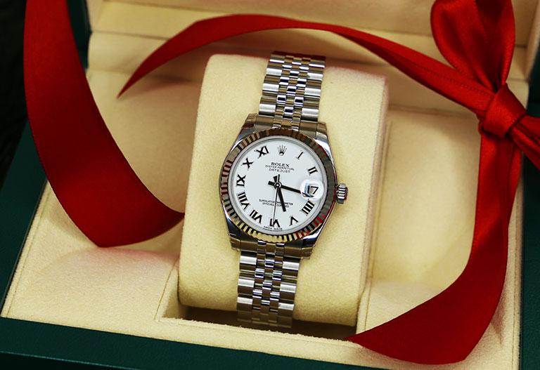 Weihnachten mit Watchmaster Rolex Datejust 178274