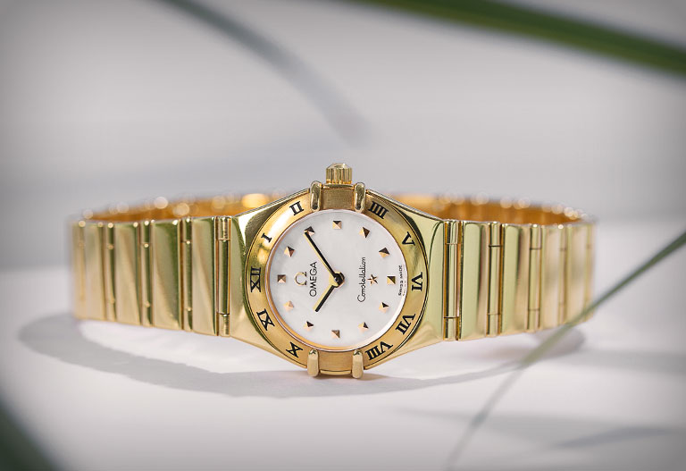 Omega Constellation en or