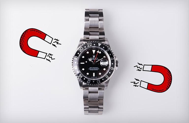 Rolex GMT Master II 16710 Magnetism