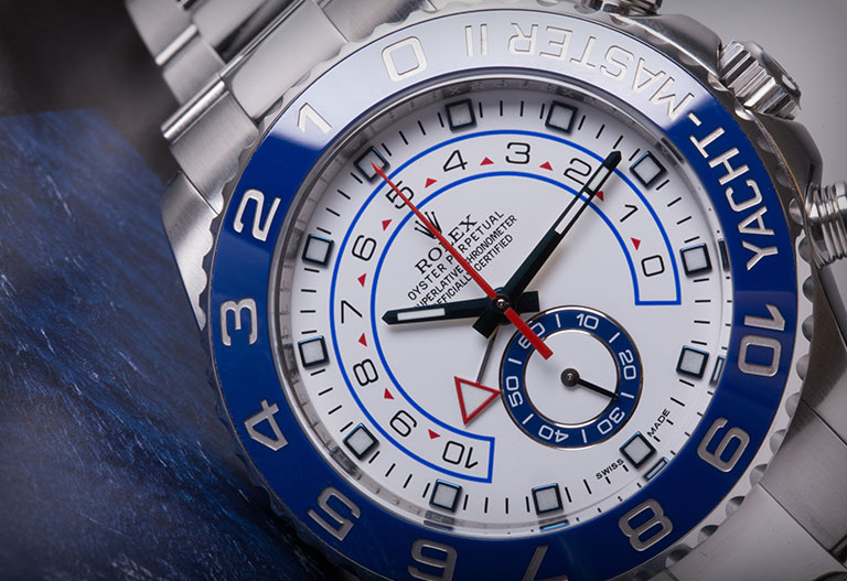 Rolex Yacht Master II 116680 close up
