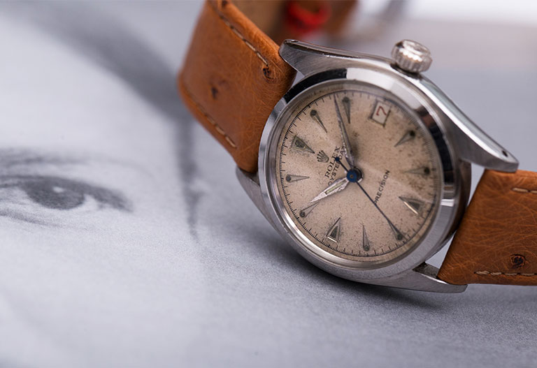 Hans Wilsdorf Rolex Oyster 6066