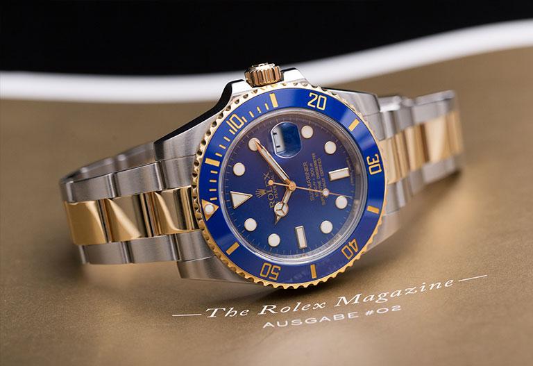 Hans Wilsdorf Rolex Submariner 116613LB