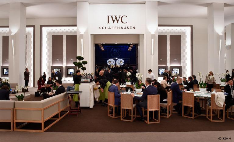 SIHH 2018 Booth of IWC Schaffhausen International Watch Company
