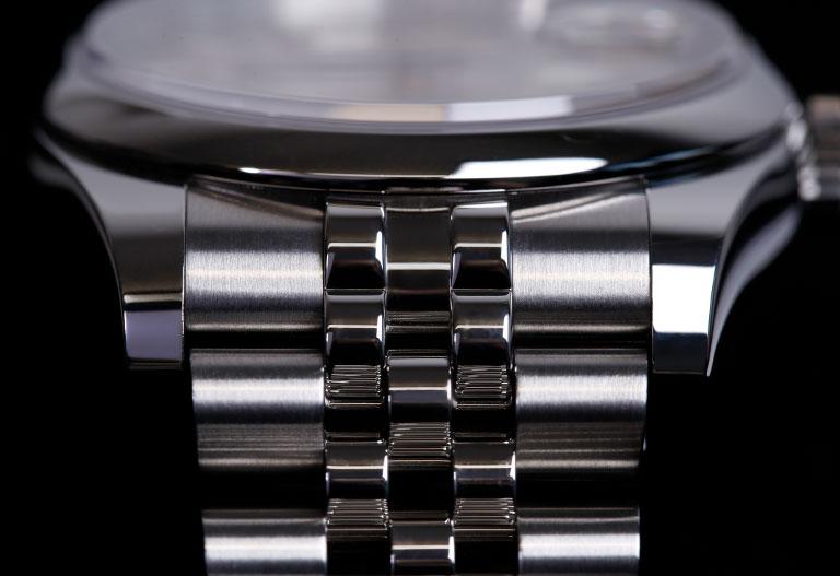 Materiales de Rolex - Correa de Oystersteel