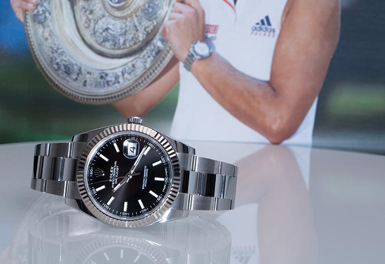 Rolex Sponsoring Tennis Rolex Datejust II