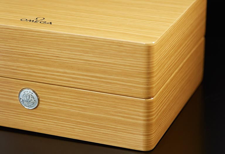 A wood case