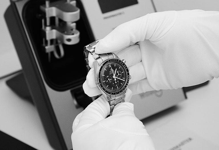 Une montre analysée par un expert