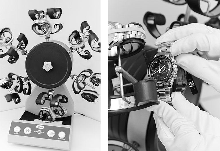 Une machine spécialisée dans le contrôle des montres