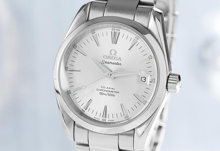 Omega Seamaster Co Axial 2503.30 cadran Argent