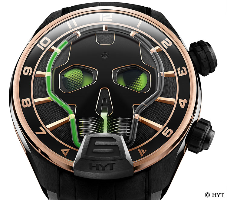 HYT watch from the Skull Collektion