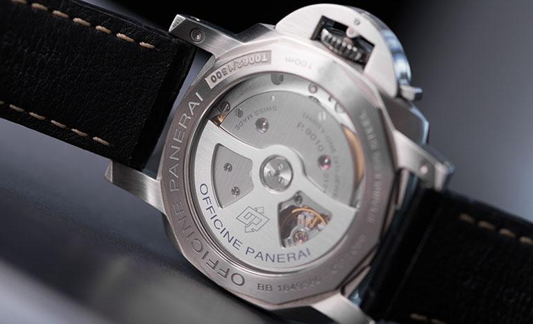 Movimiento automático de un reloj de la Officine Panerai