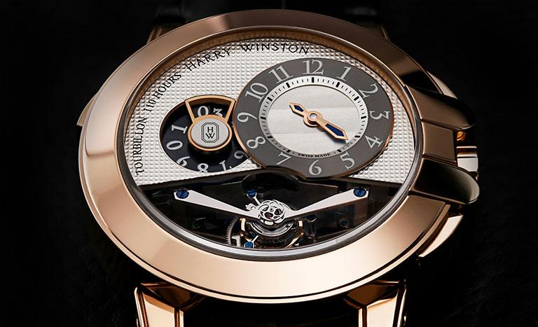 Eine Harry Winston Uhr