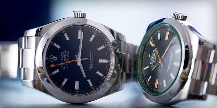 Rolex Milgauss 116400GV und 116400
