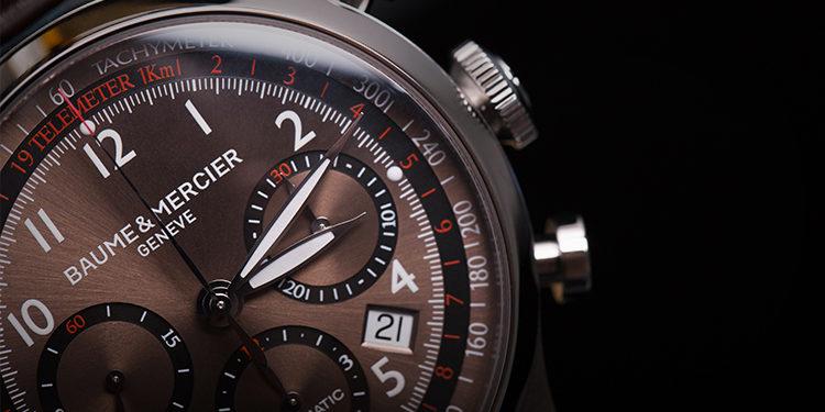 Baume Mercier Capeland M0A10083 horloge
