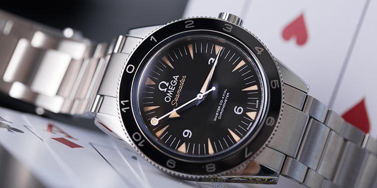 Gebrauchte Omega Seamaster 300 Uhr Ref. 233.32.41.21.01.001