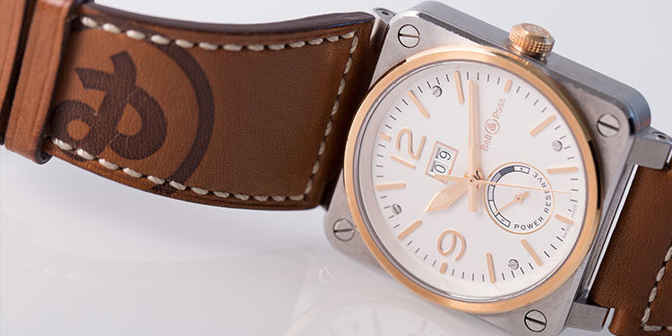 Bell und Ross BR03-90 Steel and Rose Gold