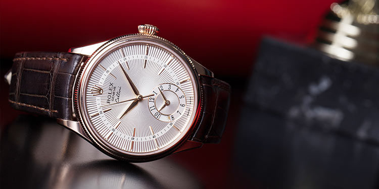 La Montre Rolex Cellini Dual Time 50525