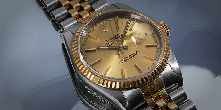 Rolex Lady-Datejust Golden dial and bezel