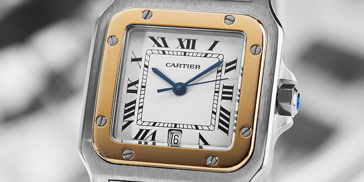 Cartier Santos luxury watch