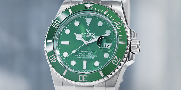 Pre-owned Rolex Submariner 116610LV Hulk