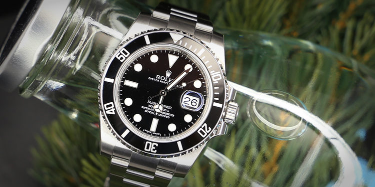 Submariner Date Black Dial