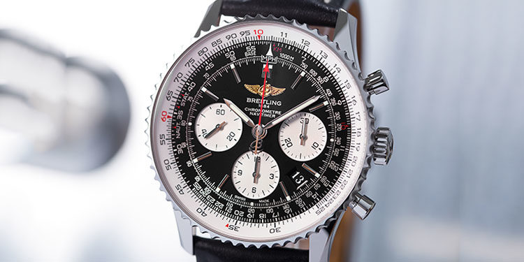 Pre-owned Breitling watch - Breitling Navitimer 01 AB012012.BB01.436X.A20D.1