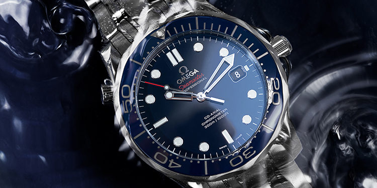 Used Omega watch - Omega Seamaster Diver 300M 212.30.41.20.03.001