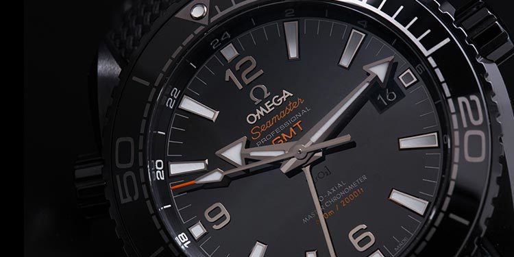 Omega Seamaster Planet Ocean 600 M GMT