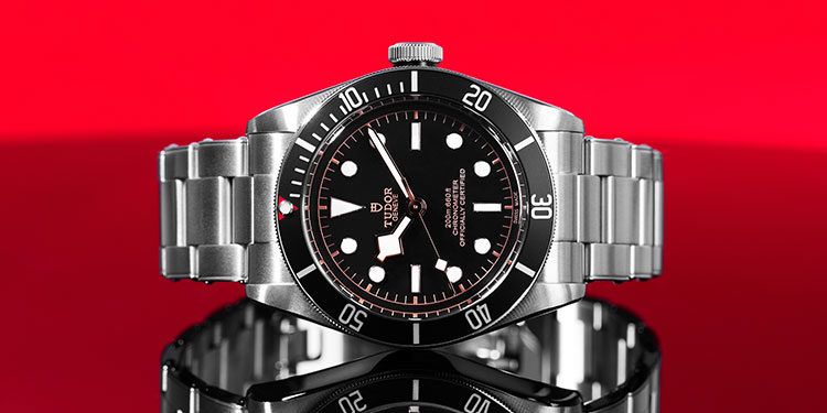 Tudor Submariner - black dial and bezel