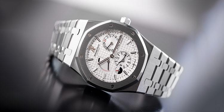 Steel Bracelet White Dial