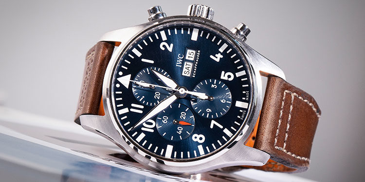 IWC Pilots Watch Chronograph IW377714 - Sonderedition Le Petite Prince