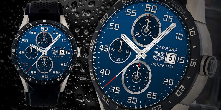 TAG HEUER CONNECTED SAR8A80FT6045 - Die Smartwatch der Sonderklasse