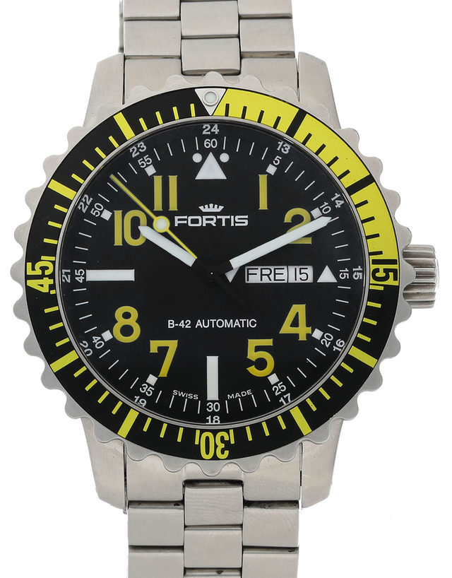Fortis B-42 Marinemaster Day Date 670.24.14 M