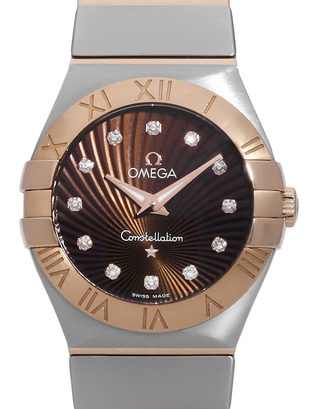 Omega Constellation Quartz 123.20.27.60.63.001