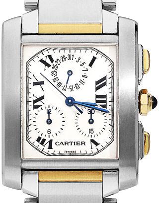 Cartier Tank Francaise Chronoflex W51004Q4 2303