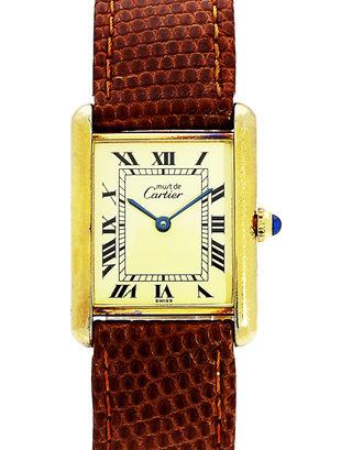 Cartier Tank Vermeil 590005