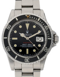 Rolex Submariner 1680 Single Red