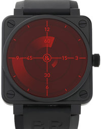 Bell and Ross BR01-92 Red Radar