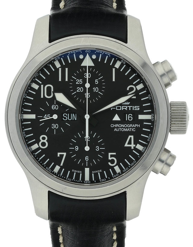 Fortis B-43 Pilot Chronograph 701.10.81.L01