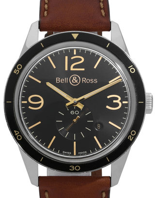 Bell and Ross Vintage 123 BRV123-GH-ST/SCA