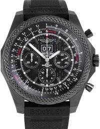 Breitling Bentley 6.75 Midnight Carbon