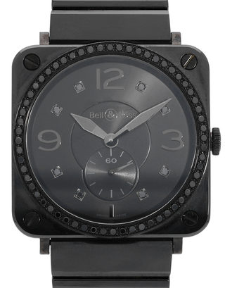 Bell and Ross Black Ceramic  BRS-98-PBCD